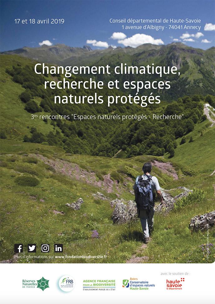 3es Rencontres espaces naturels protégés et recherche