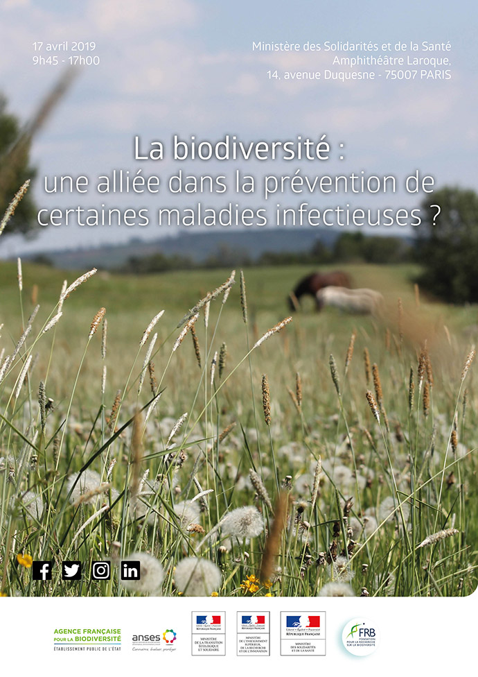 """[Colloque """"La biodiversité : une alliée dans la prévention de certaines maladies infectieuses ?""""] Les actes et messages-clés en lignes"""