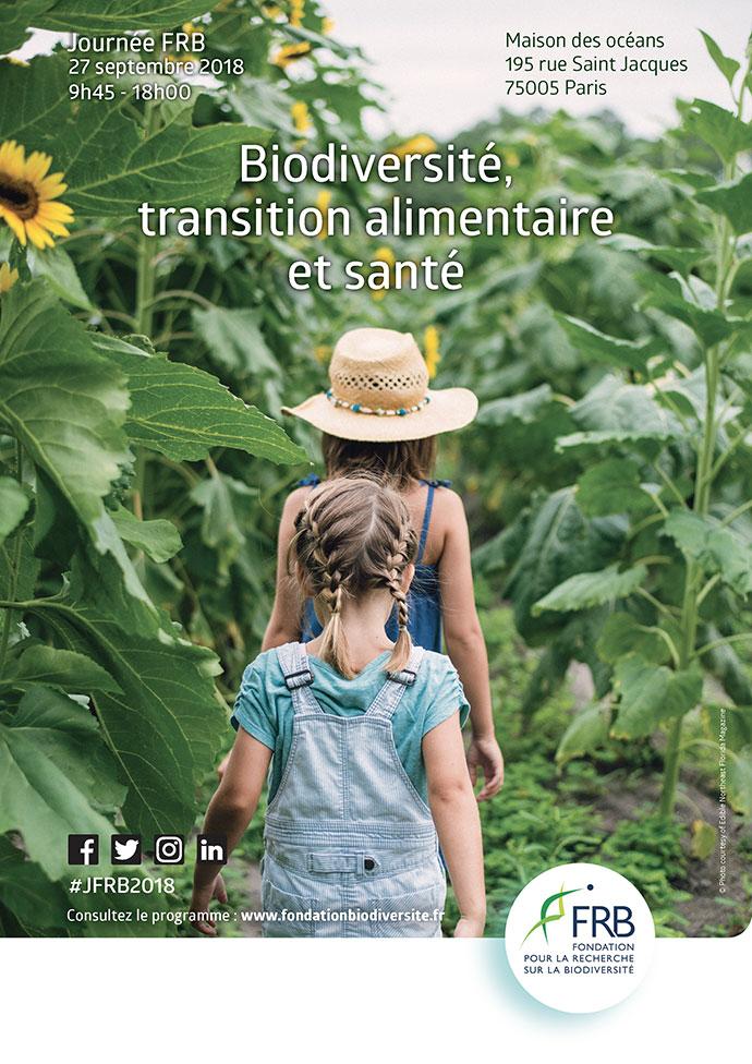 [Journée FRB 2018] Biodiversité, transition alimentaire et santé