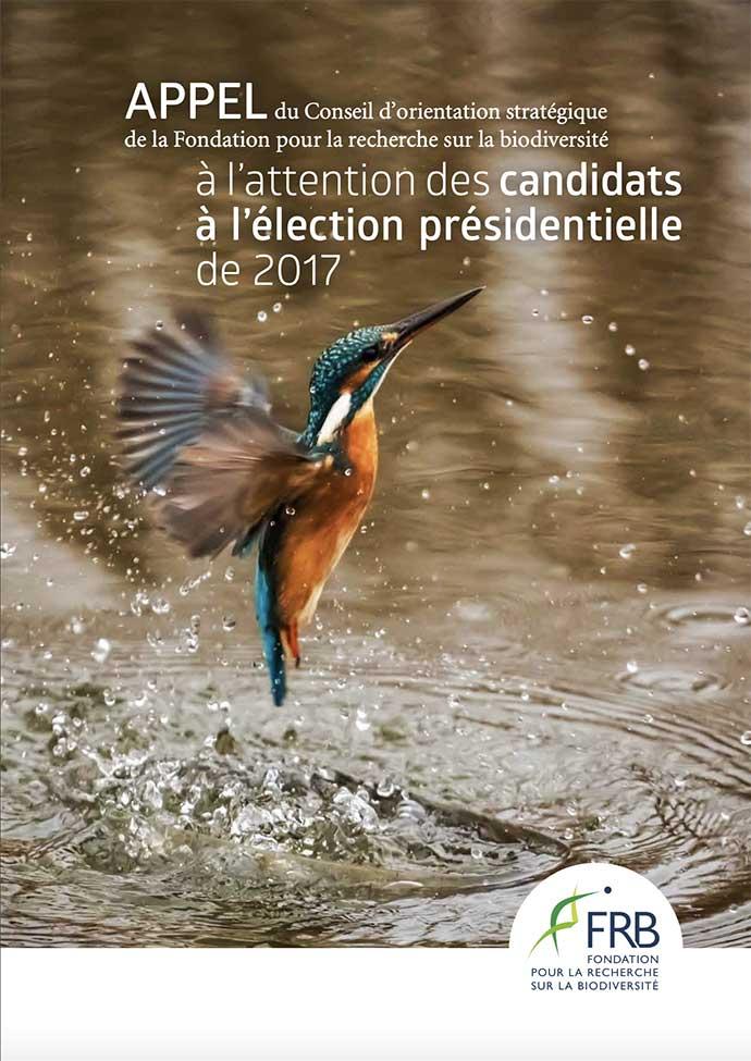 Appel aux candidats à l'élection présidentielle de 2017 du Conseil d'orientation stratégique (Cos)