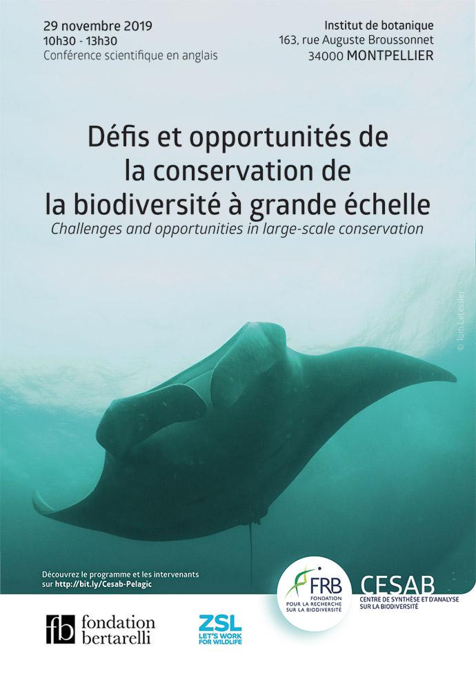 [FRB-Cesab] Défis et opportunités de la conservation de la biodiversité à grande échelle