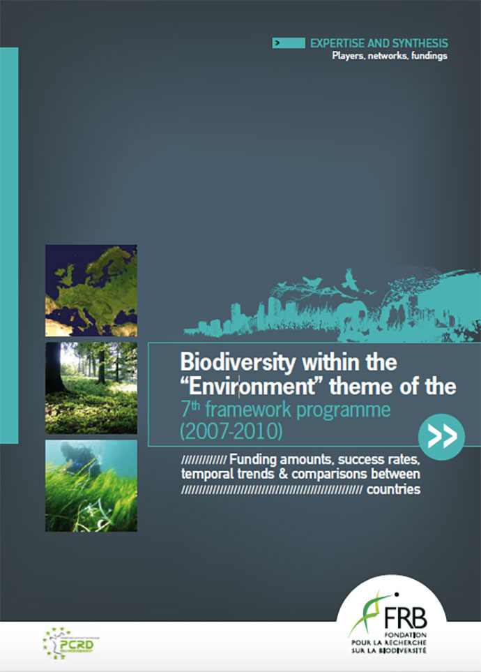 "Biodiversity within the ""Environment"" theme of the 7th framework programme (2007-2010)"