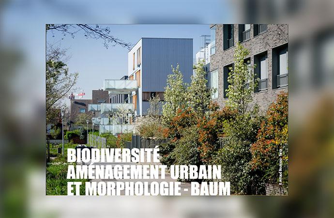 [Appel à projets – Puca] Biodiversité, Aménagement Urbain et Morphologie – BAUM