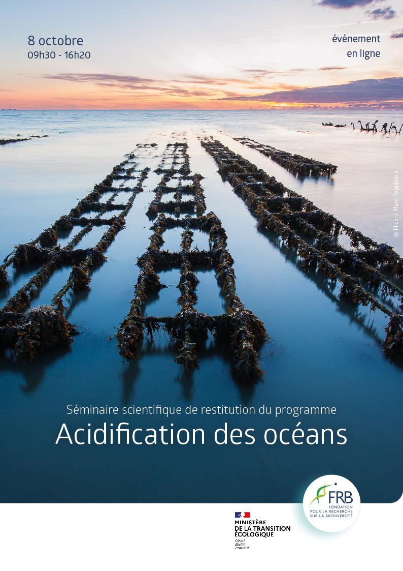 Séminaire scientifique de restitution du programme Acidification des océans